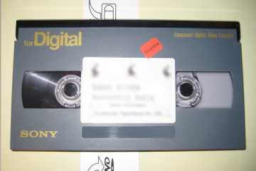 Large DigiBeta tape