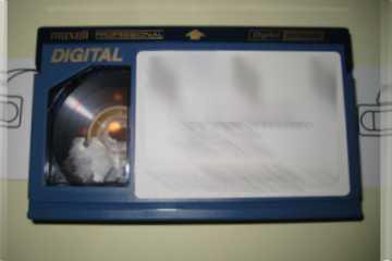 Small DigiBeta tape