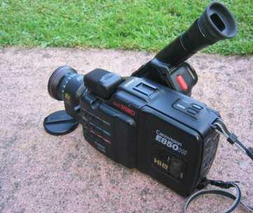Hi8 camcorder