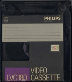 Philips N1700 video cassette