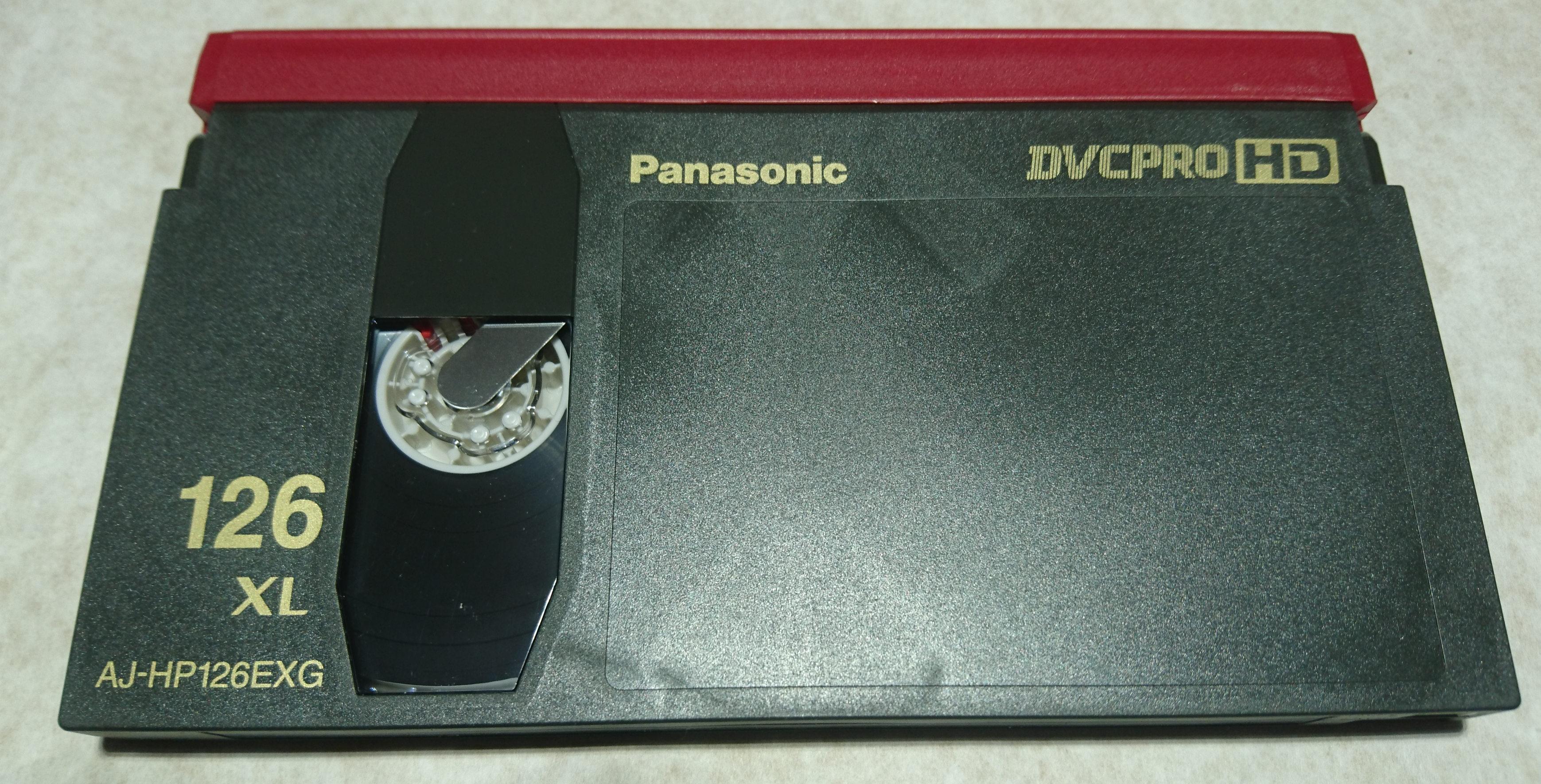 DVCPRO XL tape