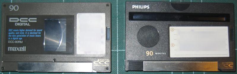 DCC cassettes