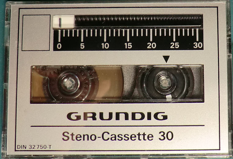 Steno-cassette